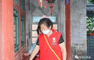 橋東志愿者打掃古堡倡導文物保護