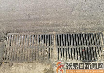 """垃圾覆盖油污不堪桥东区的井箅子被""""围困"""""""