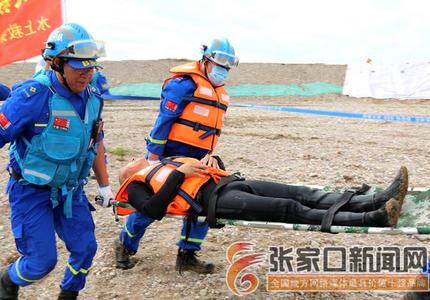 防洪演练提高应急处置能力