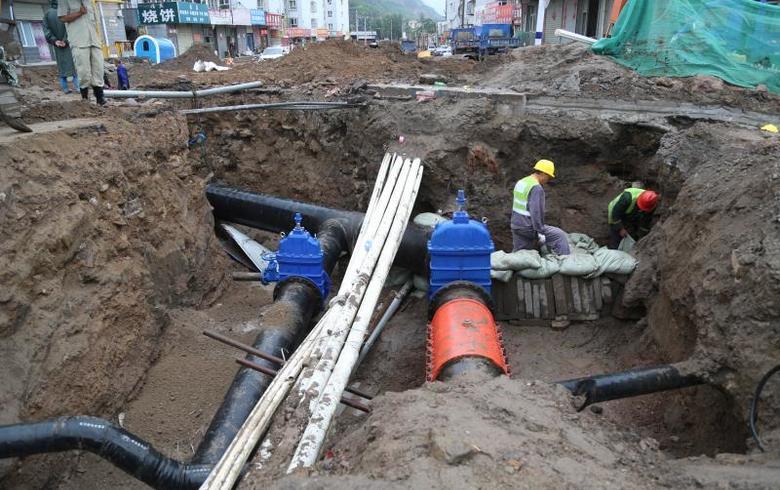 服務民生顯擔當 市政水務公司加快推進老舊管網改造