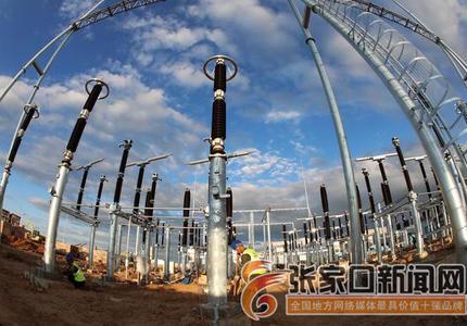 察北可再生能源项目兴建中