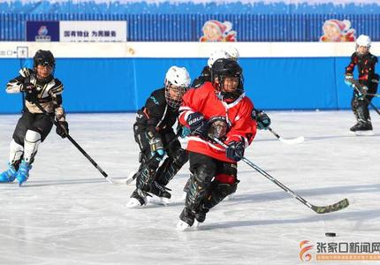 """""""冰之梦""""滑冰场开放"""