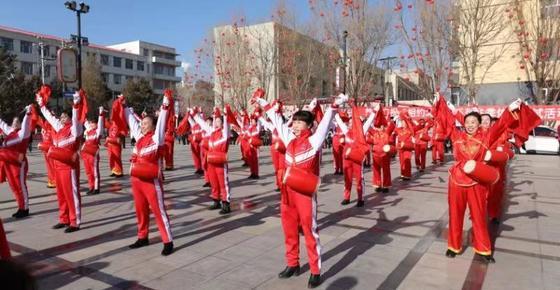 崇礼区新春鼓乐庆祝相约北京冬季体育系列测试活动成功举办
