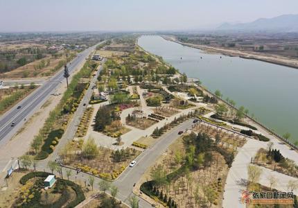 桑干河畔生態美