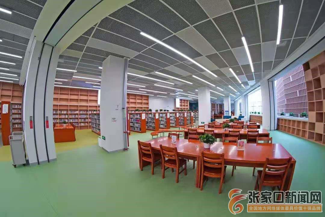 张家口市图书馆新馆试运行20天接待8000人次