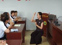 橋西區民族幼兒園舉辦師德師風暨教師禮儀講座