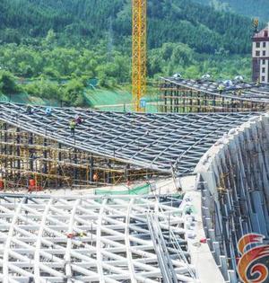 華僑冰雪博物館將于10月進入試運營